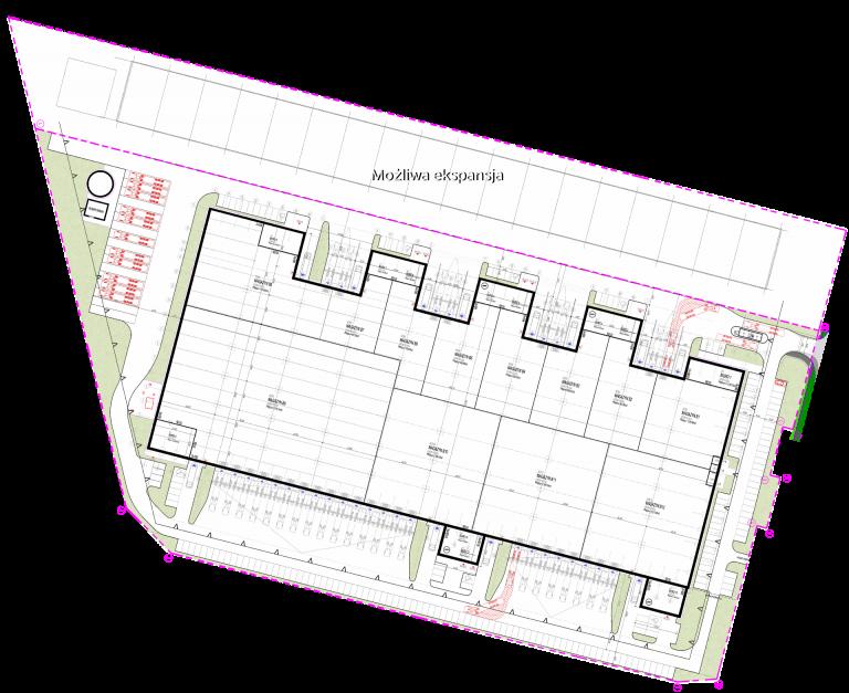 plan zagospodarowania przestrzennego - Citylink Łódź Olechów